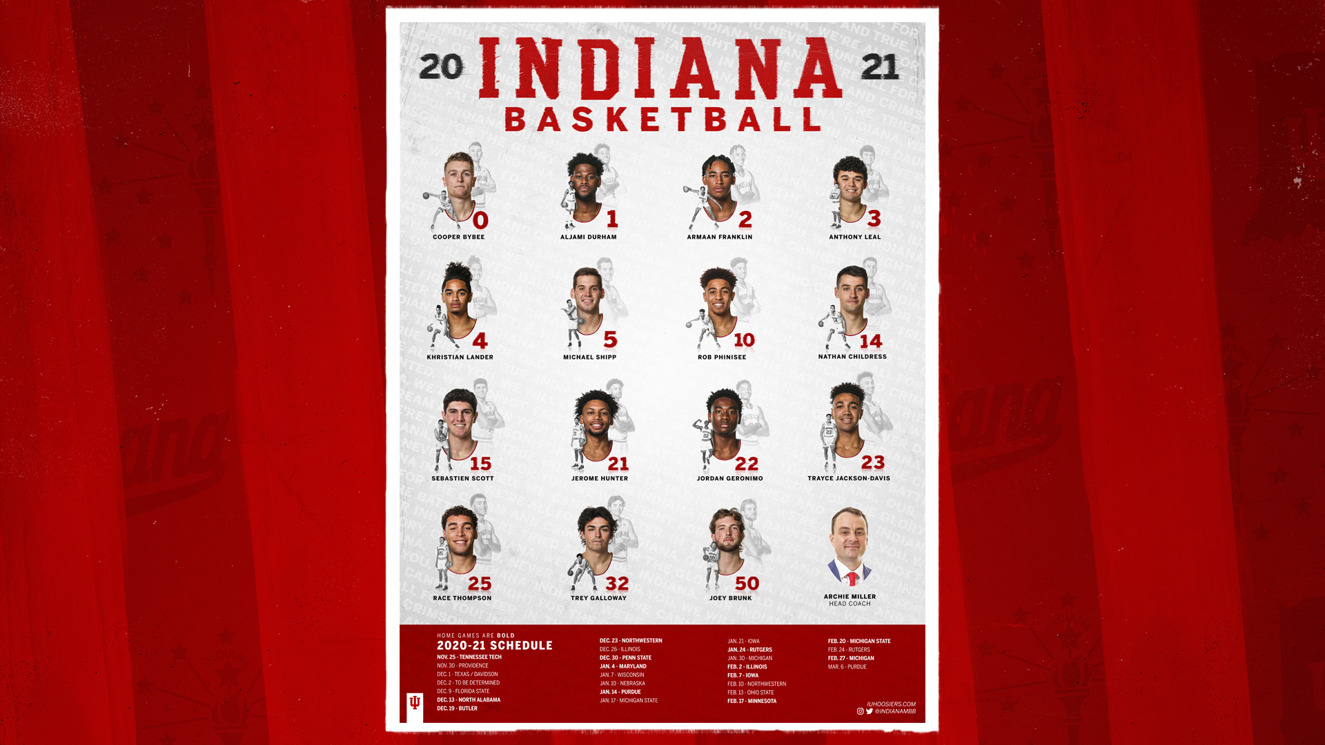 Indiana University Calendar 2022.Iconic Iu Men S Basketball Poster Now Available Can Be Ordered On Line Indiana University Athletics